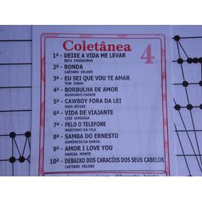 Partitura Coletânea Nº 04 Para Cítara Mini Harpa10 Partitura