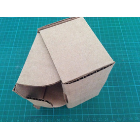 Troquel De Caja De Carton Corrugado 10x7x6cm