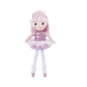 Boneca Princesa Bailarina Rosa Claro Buba Toys