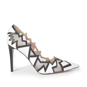 Ferraro - Zapato Stiletto De Mujer De Cuero Y Biyoné Astana
