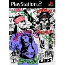 Comprar Jogo Patch Ps2 Gh Guitar Hero Guns N Roses Play 2