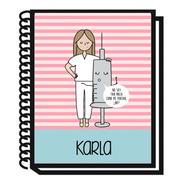 Cuaderno Enfermera Personalizado