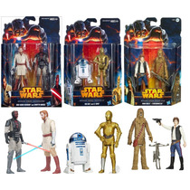Colección De 3 Paquetes Star Wars Serie Misión 6 Figuras