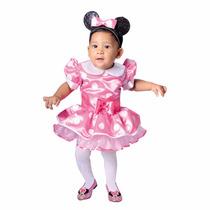 Disfraz Carnavalito Minnie Rosada ( Bebe)