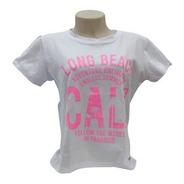 Camiseta T-shirt Feminina Estilosa Long Beach