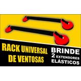 Rack Universal Veículos 4 Ventosas