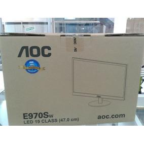 Monitor Led 19 Aoc E970sw. Tienda Fisica