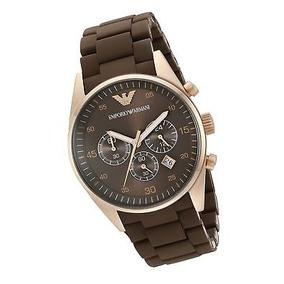 3fb5bd28df86 Reloj Emporio Armani Ar5890 Marron - Relojes Pulsera en Mercado ...