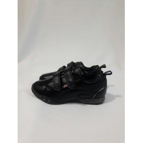 Zapato Escolar De Cuero Marca Bubble Gummers N°29