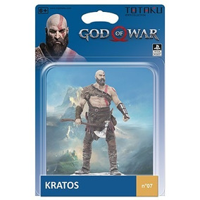 Totaku Kratos God Of War Action Figure Sony Playstation Ps4