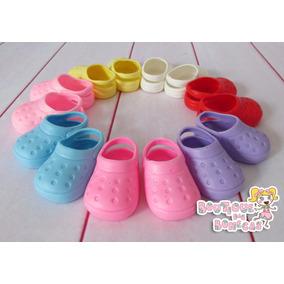 Sapatinho Crocs Para Bonecas - Baby Alive Tamanho P