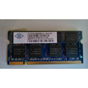 Memorias Ram 1 Gb Ddr2 452062-001 Para Laptop Hp Dv 2700