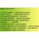 Midis Norteños Julio 2017 Novedades ,,el Cholo,, G.ortiz