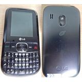 Celular Lg Mod Text It Boxc105 C/cargador Sin Liberar