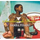 Lp Vinil Sandalia De Prata Samba Pesado Novo Lacrado