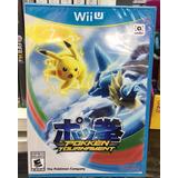 Pokemon Tournament Nintendo Wii U Nuevo Cerrado Original