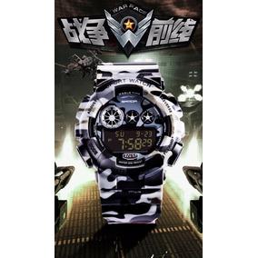 Reloj Original Sanda Camu Tactico Militar Elite Deportivo