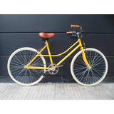 Bici Rondinella Simple Colores Estilo Retro Vintage