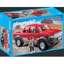 Playmobil 5615 Camioneta De Carga Y Pasajeros Ciudad