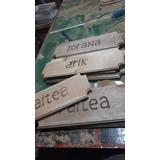 Letreros Madera Nativa