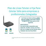 Chip Sim Card De Linea Fija O Telular Empresas Profesionales
