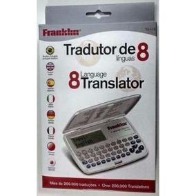 Tradutor Eletrônico Franklin Tg115 8 Idiomas Original