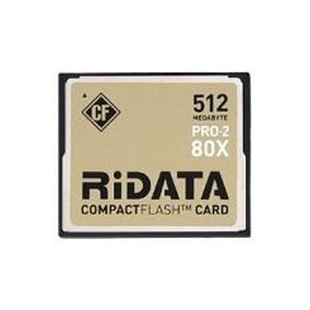 Ridata Compact Flash 512mb Pro 2 80x
