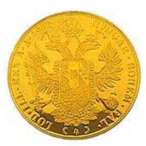 Moneda De Oro Antigua 4 Ducados Austria 1915