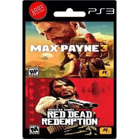 Max Payne 3 + Red Dead Redemption Ps3   Digital Español