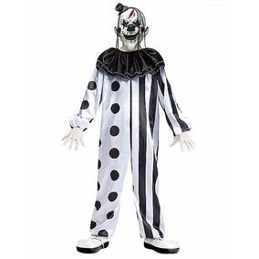 Disfraz Niño Payaso Malvado Traje Miedo Halloween Mod6