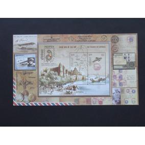 Transporte - Índia, 100 Anos Do Correio Aéreo - Air Mail