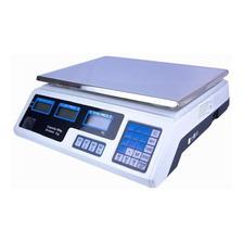 Báscula Comercial Digital Just Home Mkz-bas-acs209 40kg 110v/220v Blanco 34.5cm X 24cm