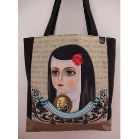 Set De Bolsa Y Cosmetiquera Virgen De Guadalupe O Sor Juana