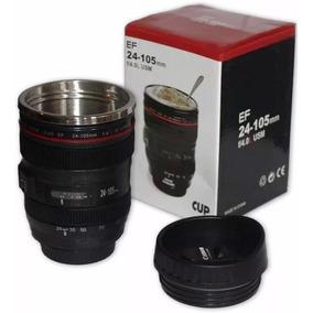 Copo Térmico Lente Câmera Canon Ef 24-105mm Caneca Bico