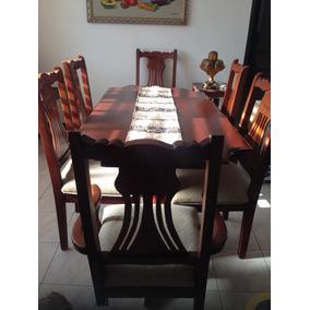 Muebles en caoba usados muebles usado en mercado libre repblica juego de comedor caoba 6 sillas thecheapjerseys Choice Image