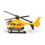 Siku Helicoptero Emergencia O Policia De Metal Escala 1:87
