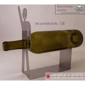 Base De Botella De Vino - Chico Del Vino A 1 Mano