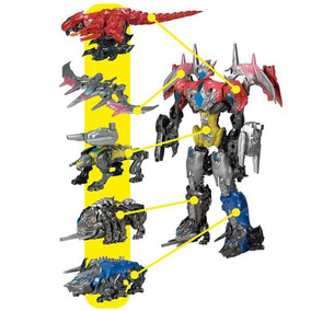 Zords Con Figura Power Rangers Movie Bandai 42560