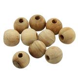Bolas De Cedro Anti Traça Mofo Baratas E Fungos 10 Bolinhas