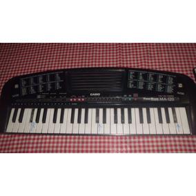 44128ef7d2e Mini Teclado Casio Ma 120 - Instrumentos Musicais no Mercado Livre ...