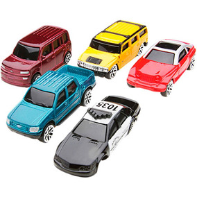 Kit 15 Carros Esportivos Pickup Fusca F1 Sedan Trator Rural