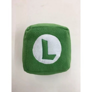 Peluche Cubo Luigi Marios Bros 18 Cm Combina + Envio Gratis