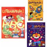 11 Libros Letramania Grafimania Numeros Manías Kel Completa