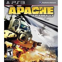 Apache Air Assault - Jogo Helicoptero Para Ps3 Semi Novo