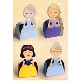 Porta Trufas/princesas Disney/frozen/cenicienta/sirenita
