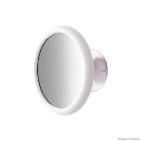 Espelho De Aumento Com Ventosa Fixadora Plug Crysbel