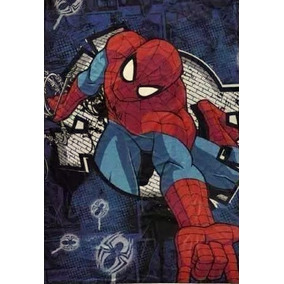 Frazada Spiderman -micro Flanell Super Soft-hombre Araña
