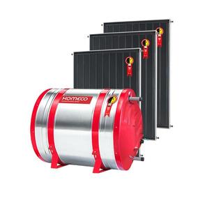 Kit Aquecedor Solar Komeco - Boiler 1000 Litros +5 Coletores