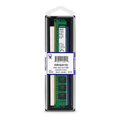 Memória RAM ValueRAM  8GB 1x8GB Kingston KVR16LN11/8