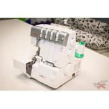 Remalladora Janome 1210dx 2,3y4 Hilos Rulote Semi Industrial